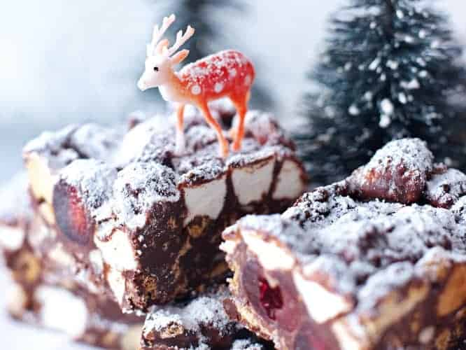 Christmas Rocky Road Candy Gluten Free Recipe