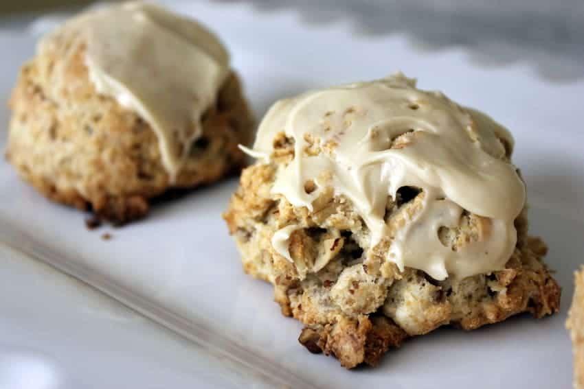 Gluten Free Maple Oat Scones recipe