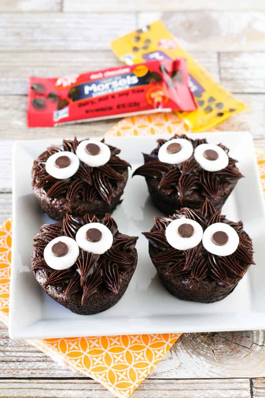chocolate monster brownies - G-Free Foodie