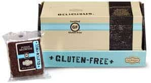 our specialty gluten free brownies