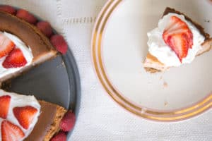 the best strawberry cheesecake recipe