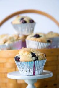 best gf blueberry muffins