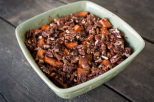 butter pecan sweet potatoes recipe