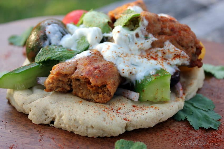 gluten free turkey kofta kebab