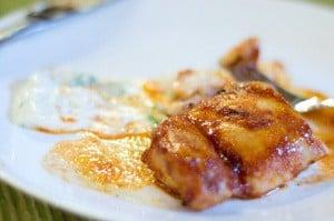 sweet hot chicken thighs recipe