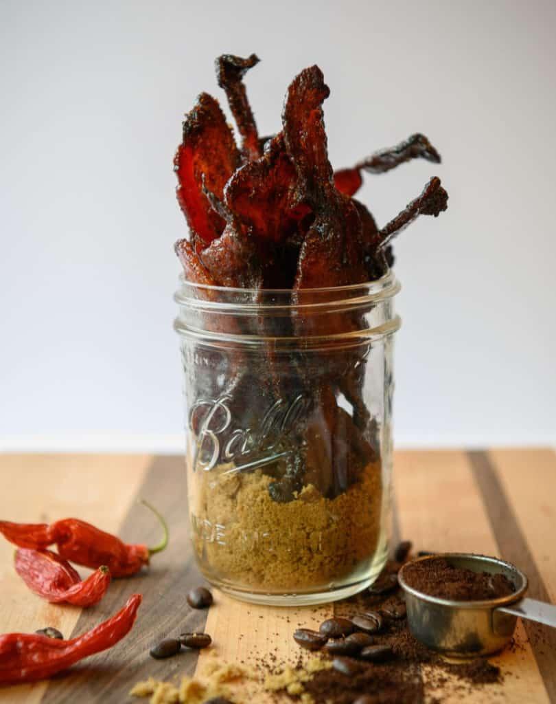 espresso candied bacon
