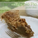 gluten-free french apple pie