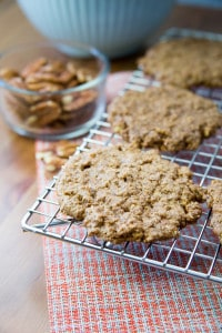 flourless pecan cookies