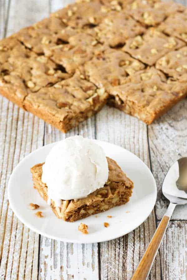 gluten-free blondies recipe