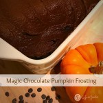 chocolate pumpkin frosting recipe
