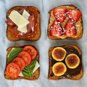 gluten-free toast toppings