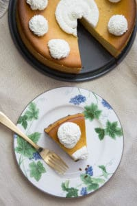 how to make gluten-free pumpkin cheesecake