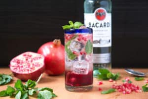holiday antioxidant mojito