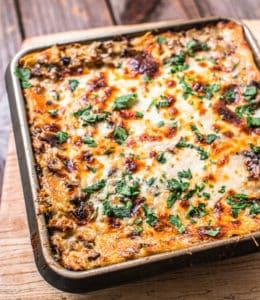 gluten-free creamy white lasagna recipe