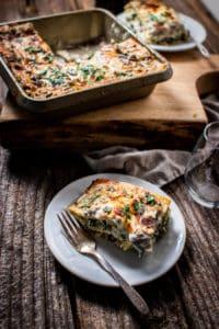 Gluten-Free Mushroom and Vegetable Lasagna Recipe