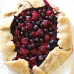 GLUTEN FREE VEGAN RUSTIC MIXED BERRY PIE