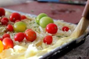 recipe for gluten-free slab pie pizza
