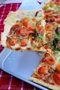 pizza gluten-free slab pie pizza