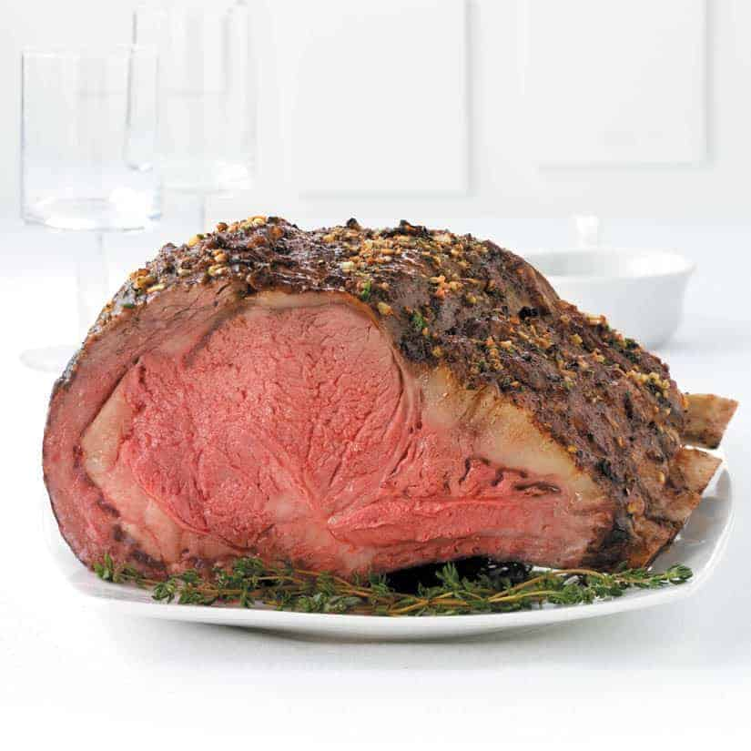 Emeril S Prime Rib Roast Recipe Oven Or Pellet Smoker