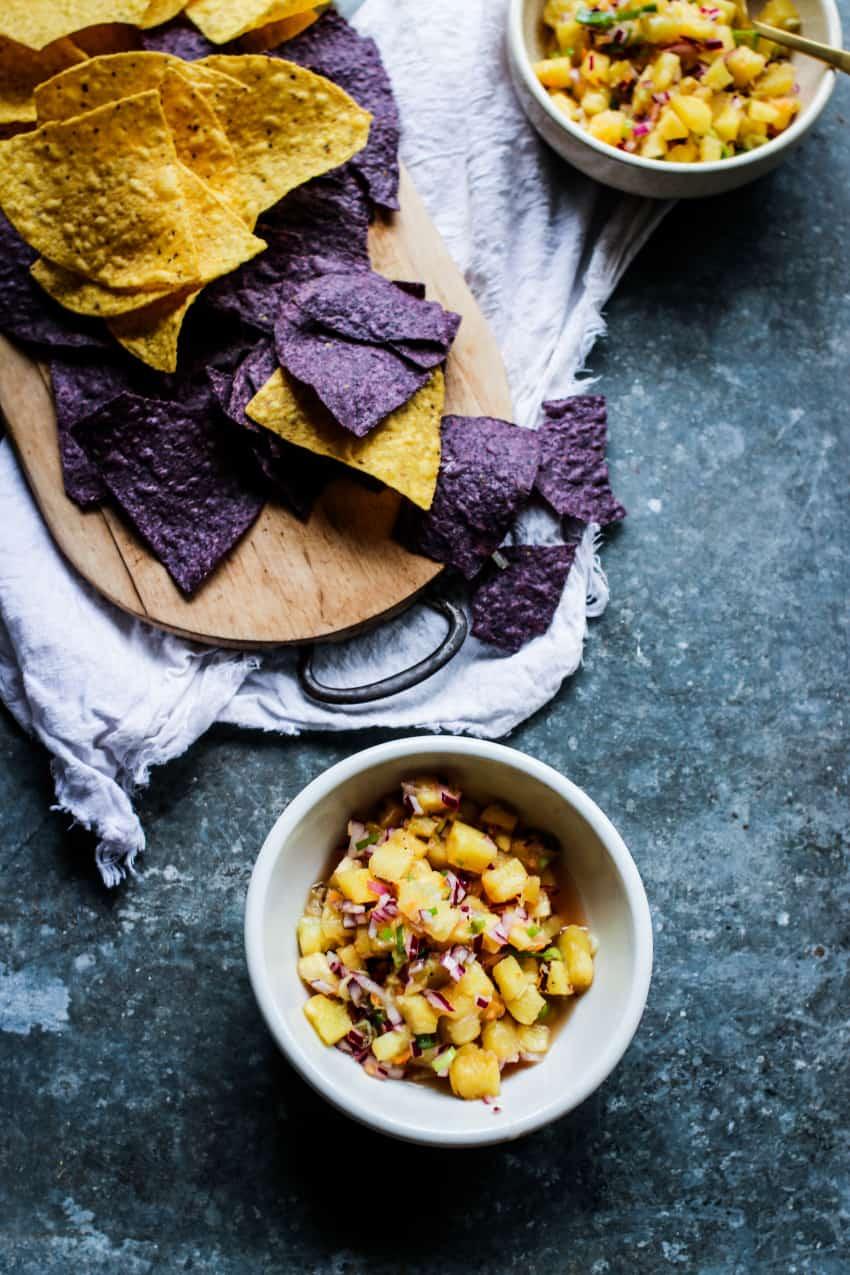 best fresh pineapple salsa recipe