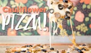 paleo cauliflower pizza crust recipe