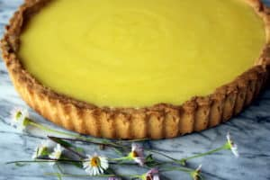 gluten-free lemon tart recipe