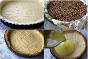 making gluten-free luscious lemon tart crust