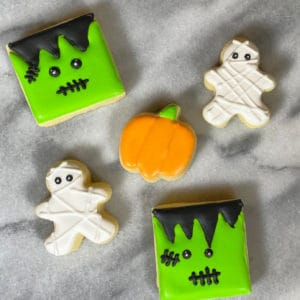 Halloween Sugar Cookies Gluten-Free