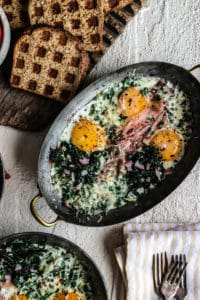 Gluten Free Delicious Baked Eggs
