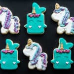 Gluten-Free Unicorn Sugar Cookies