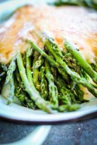 gluten free Asparagus Au Gratin recipe