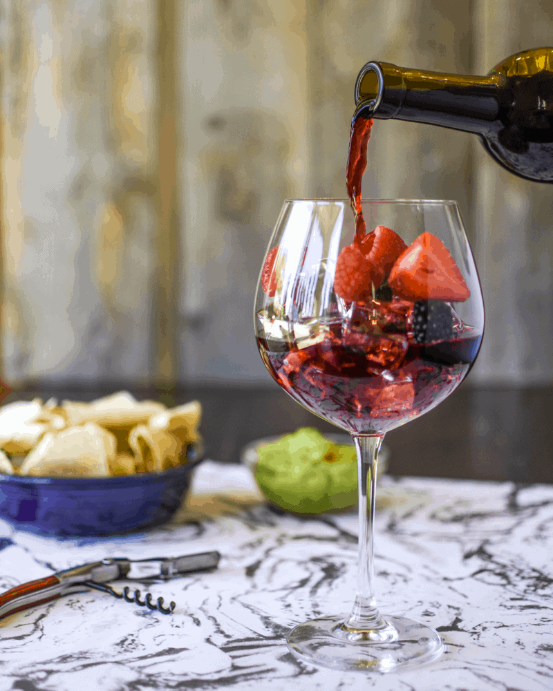 single serving sangria