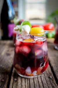 farmers market wine cocktail tomato sangria
