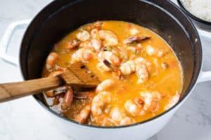 paleo creole shrimp