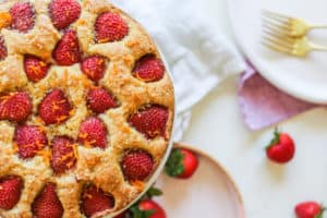 strawberry buttermilk cake recipe