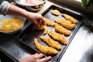 how to make easy gluten-free chicken strips