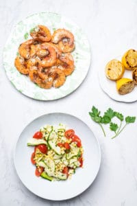 gluten-free grilled shrimp