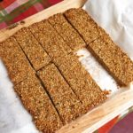 cashew sesame bars or sqaures