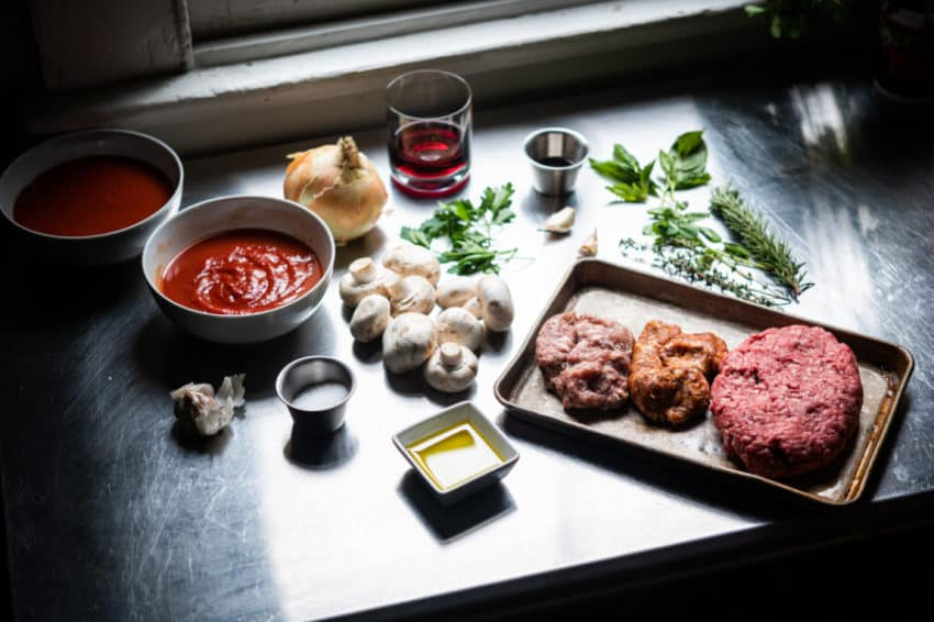 homemade meat sauce ingredients