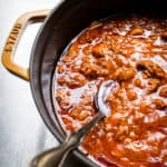 homemade Traditional Meat Sauce recipe
