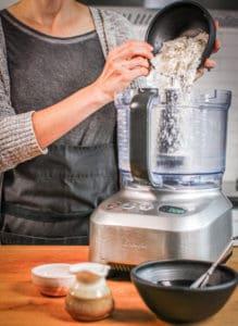 gluten-free fresh pasta recipe in food processor