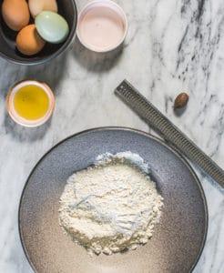 gluten-free pasta recipe supplies
